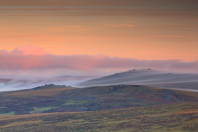 Mists of Great Mis - Dartmoor Landscapes Prints