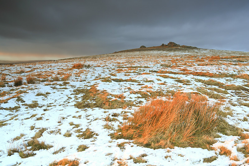 Great Mis Tor in Winter
