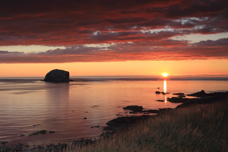 North Berwick Sunrise - Coastal Prints