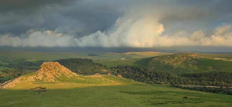 Leather Tor, Sheepstor & Gutter Tor - Dartmoor Landscapes Prints