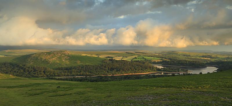 The Burrator Landscape - Dartmoor Landscapes Prints