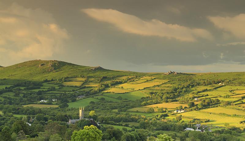 Widecombe-in-the-Moor Dartmoor