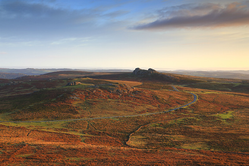 Saddle Tor & Haytor - Dartmoor Landscapes Prints