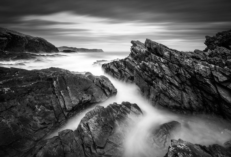 Atlantic Mists - Black & White