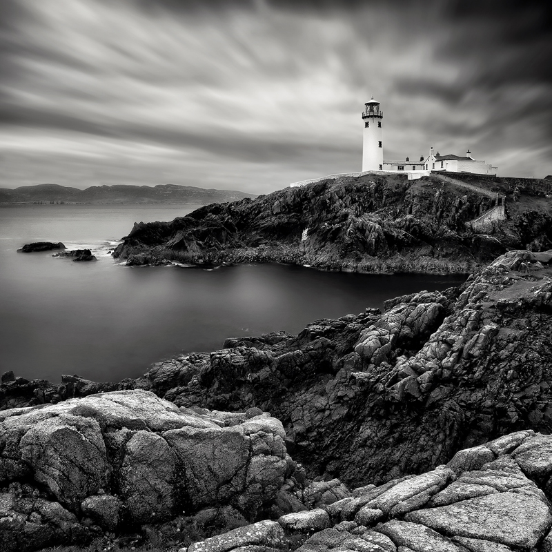 Fanad Lighthouse - Black & White