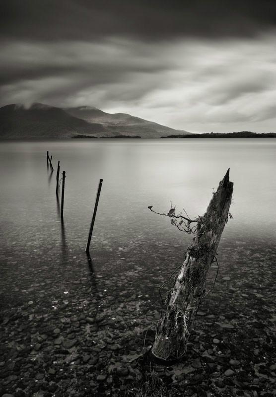 Lough Leane II - Black & White