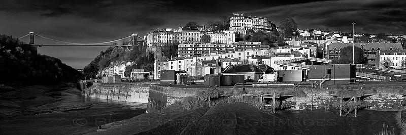 Avon Gorge in mono - Panoramic images