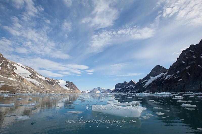 Fjord landscape - Svalbard
