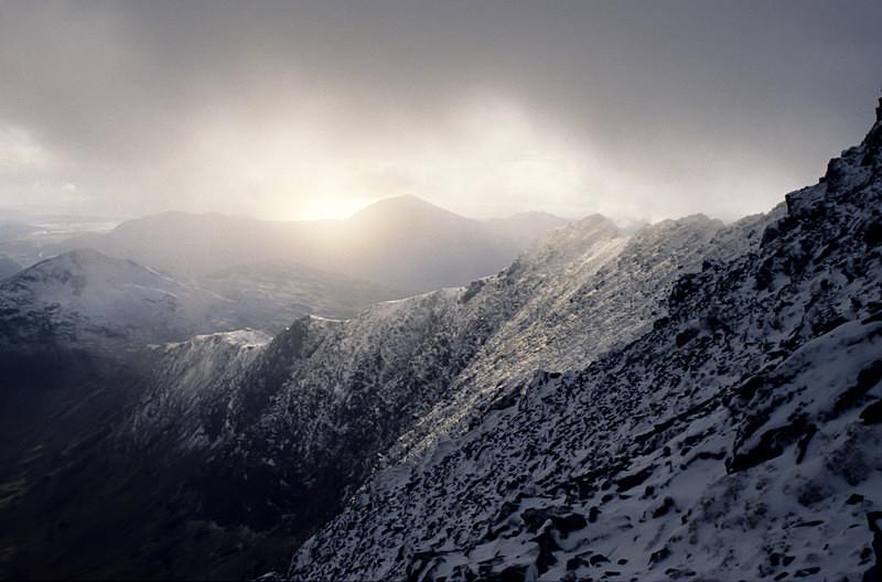 View from Y Lliwedd (S001) - Wales