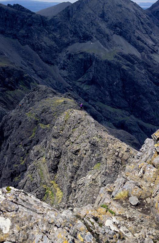 Sgurr Mhic Choinnich summit ridge  Isle of Skye - Highlands