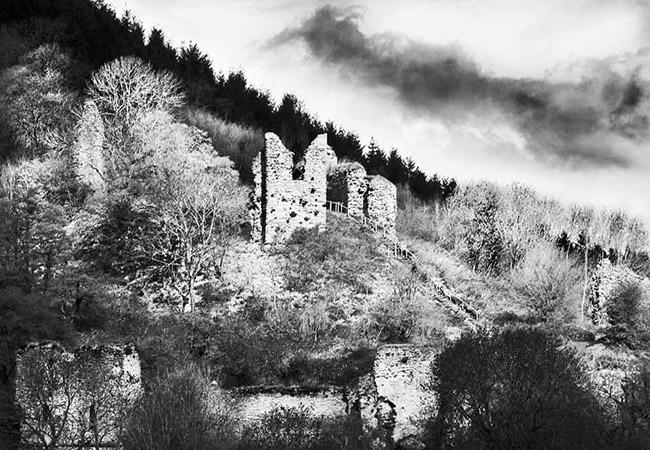Wigmore Castle and Edward IV