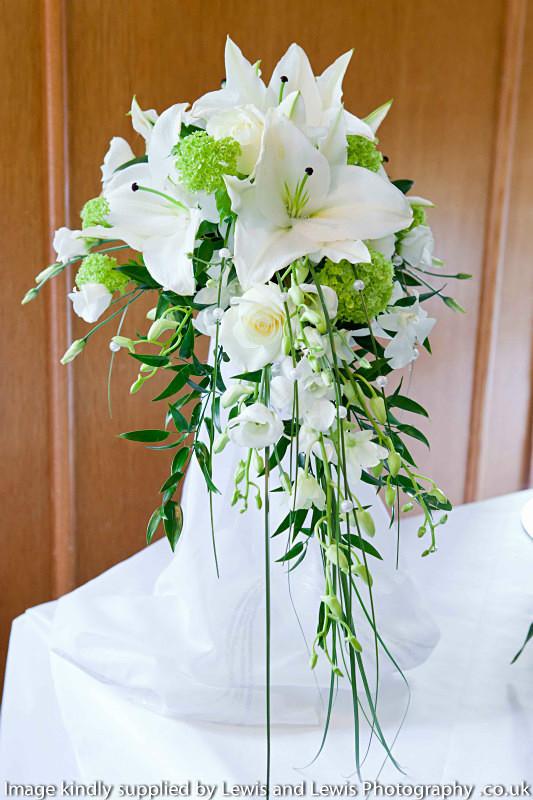 bridal teardrop shower bouquets photo jane pillinger