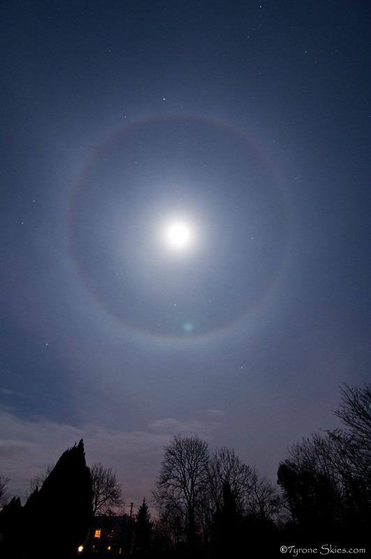 22 Degree Halo - Atmospheric optics