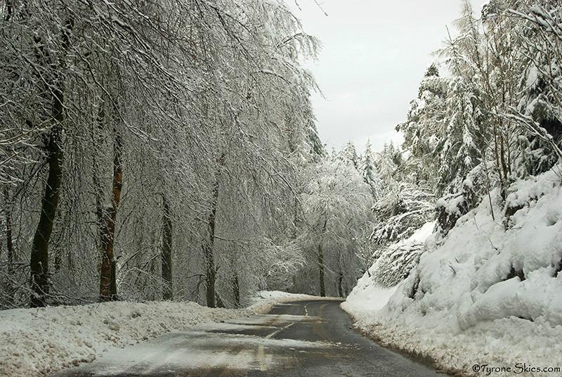 Gortin Glens snow