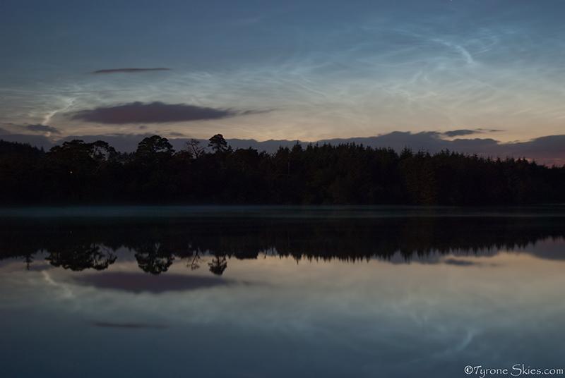NLC Reflections - Noctilucent Clouds