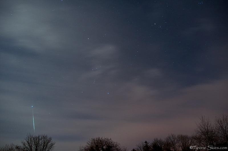 Geminid 1 - Meteors