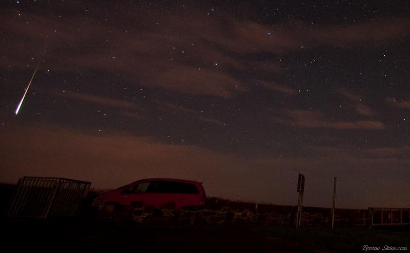 Perseid fireball - Meteors