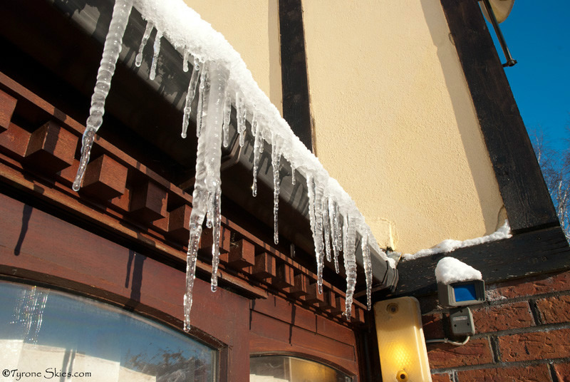 Irish icicles