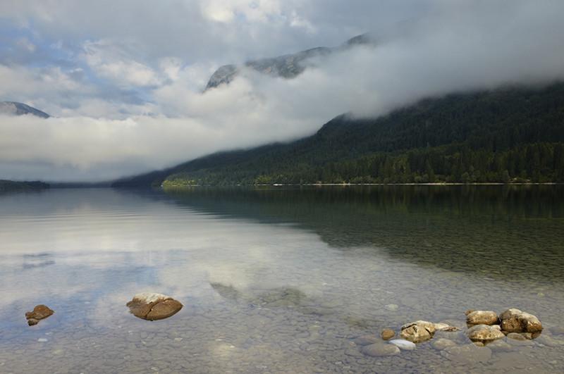 Slovenia - Early Morning at Lake Bohinj 3 - European Scenes