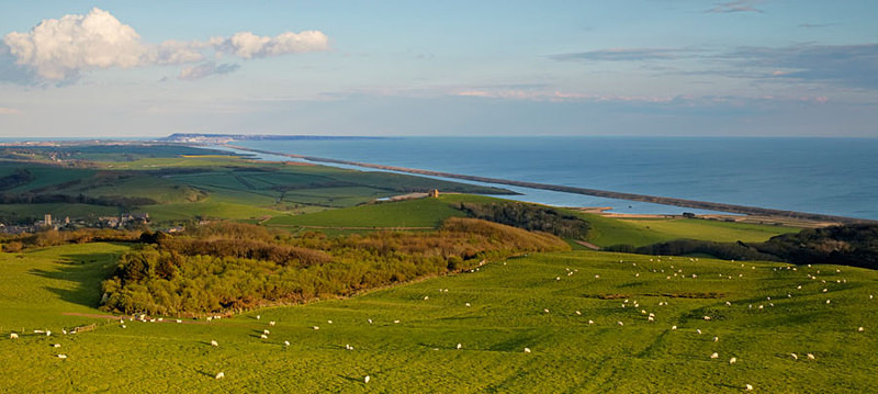 View from Abbotsbury Hill - Panoramas