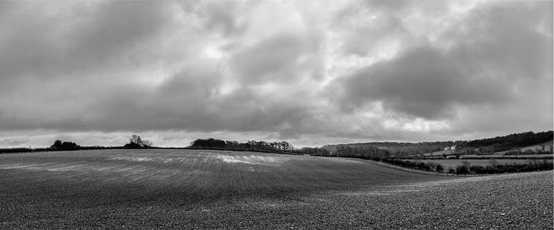 View towards Winterborne Came, Dorchester - April 2013 - Panoramas