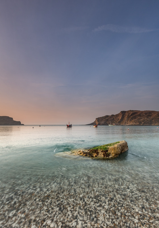 Early Morning at Lulworth Cove, Dorset - Dorset Seascapes