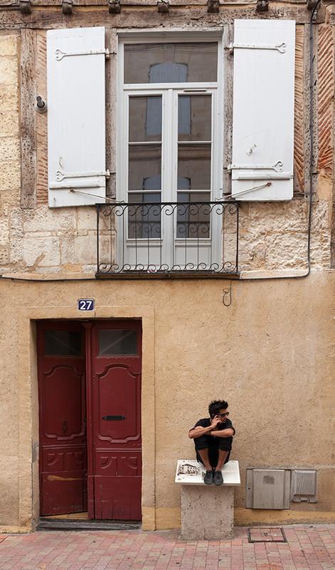 Bergerac, Dordogne, France - European Scenes