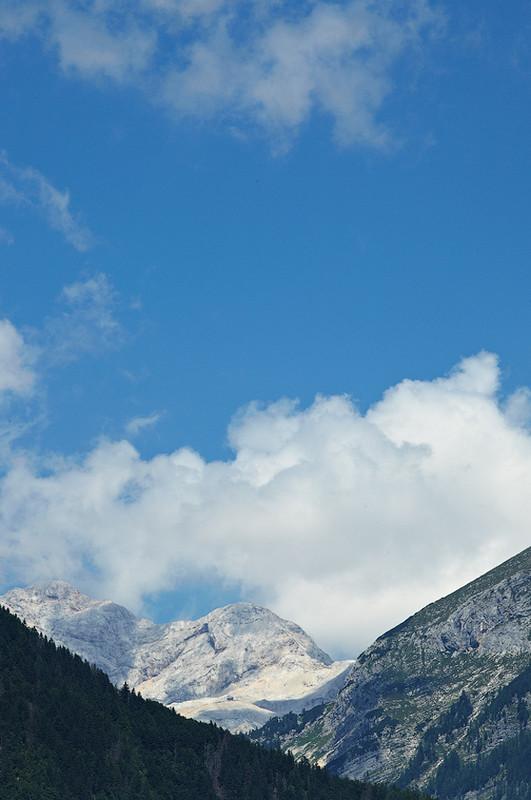 Mountain Scene, Lake Bohinj, Slovenia - European Scenes