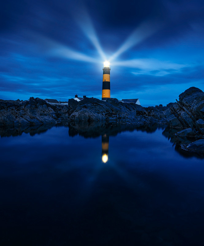 St. Johns Point Lighthouse - Down