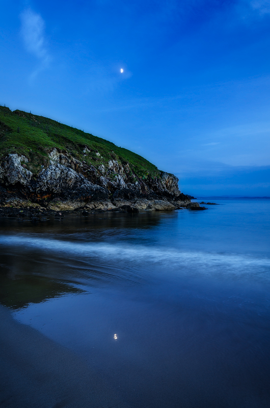 On A Moonlit Stage - Donegal