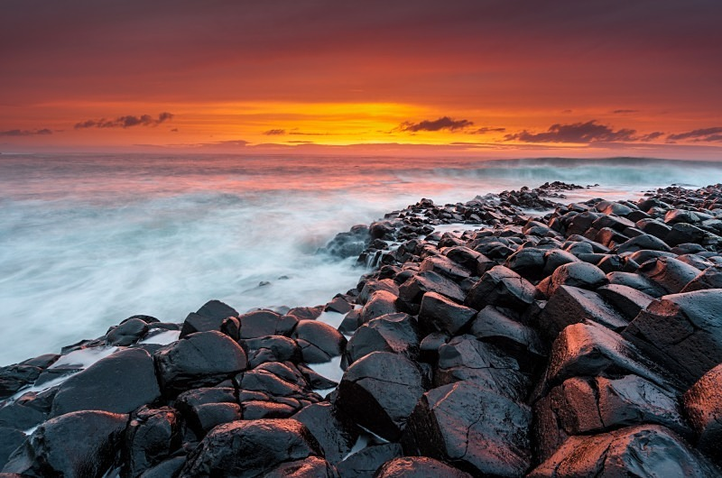 The Giant's Causeway - Antrim