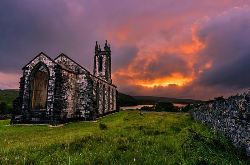 Dunlewey's Fire - Donegal