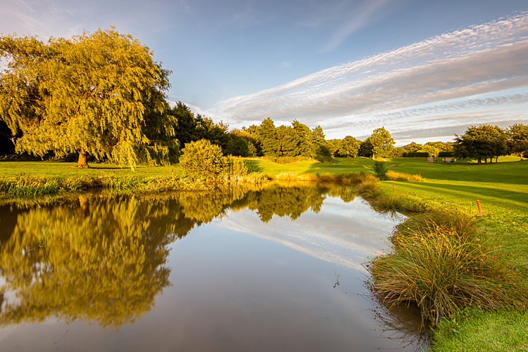 Lake on the 10th fairway (7) - The Tytherington Club