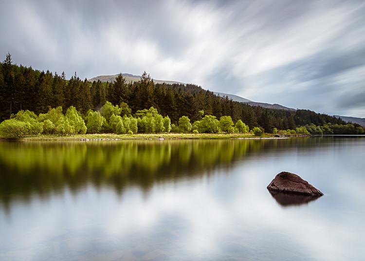 Reflections, Llyn Mymbyr (2) - Wales