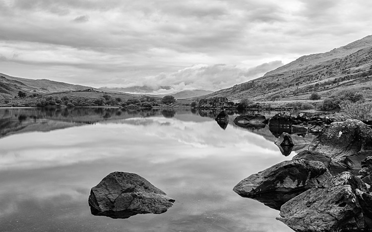 Towards Snowdon from Llyn Mymbyr (3) - Wales