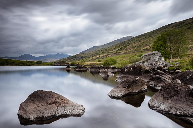 Towards Snowdon from Llyn Mymbyr (2) - Wales