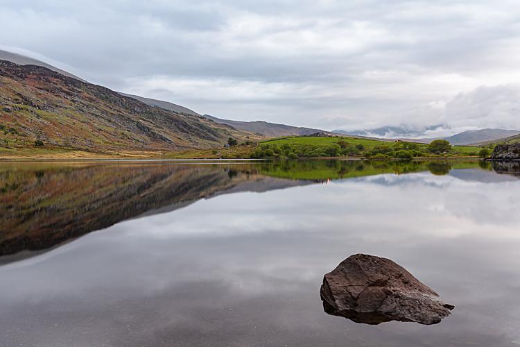 Towards Snowdon from Llyn Mymbyr (4) - Wales