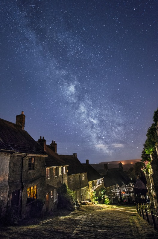 Gold Hill, Shaftesbury - The Night