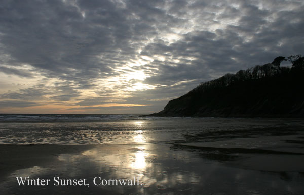 cornish sunset - Clouds