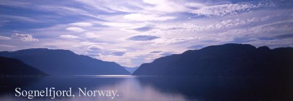 fjord clouds - Clouds