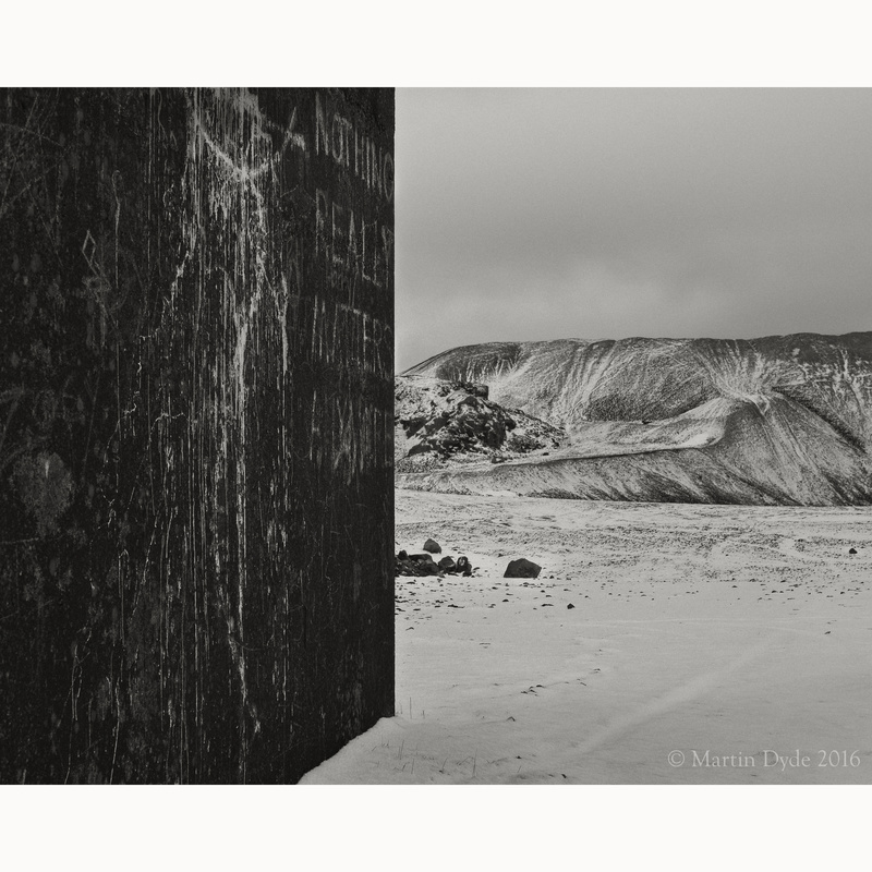 Derelict quarry building 2, Blaen Onneu, Llangynidr, Brecon Beacons, Wales | The Silver Monochrome: black-and-white film photography by Martin Dyde