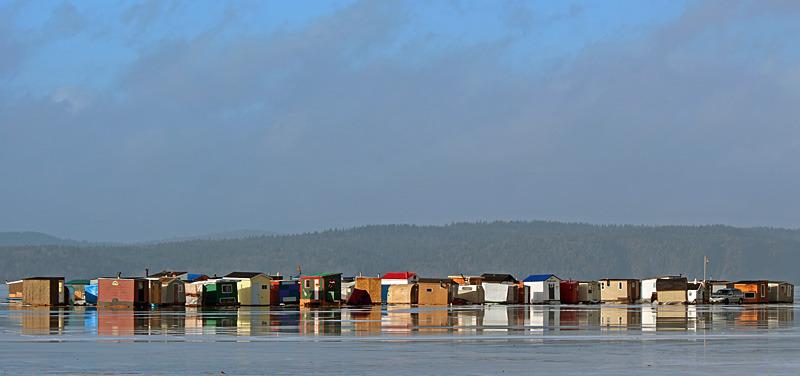 Renforth Ice Fishing Shacks - 4 - Ice Shacks
