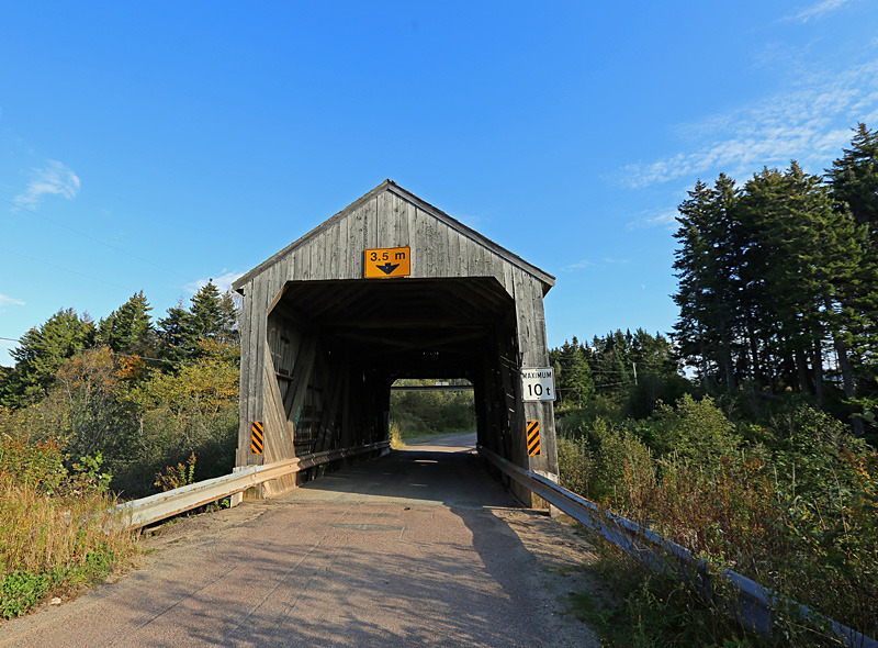 Shepody River #3 (Germantown Lake) - 1 - Covered Bridges of New Brunswick