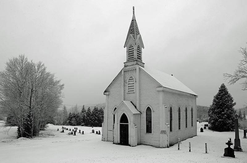 Saint Patrick's Catholic Church & Cemetery Golden Grove, New Brunswick - Historic New Brunswick