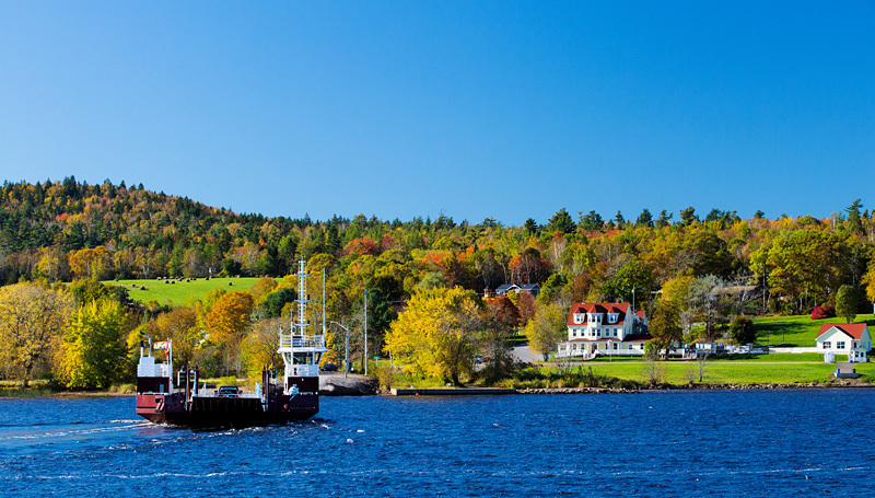 Evandale New Brunswick Canada Autumn Foliage - New Brunswick Autumn Foliage