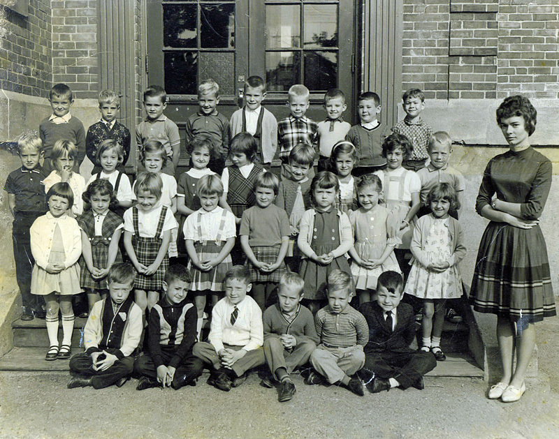 Rothesay Elementary School New Brunswick Canada 1963 Miss Hillman Gr.1 - Historic New Brunswick