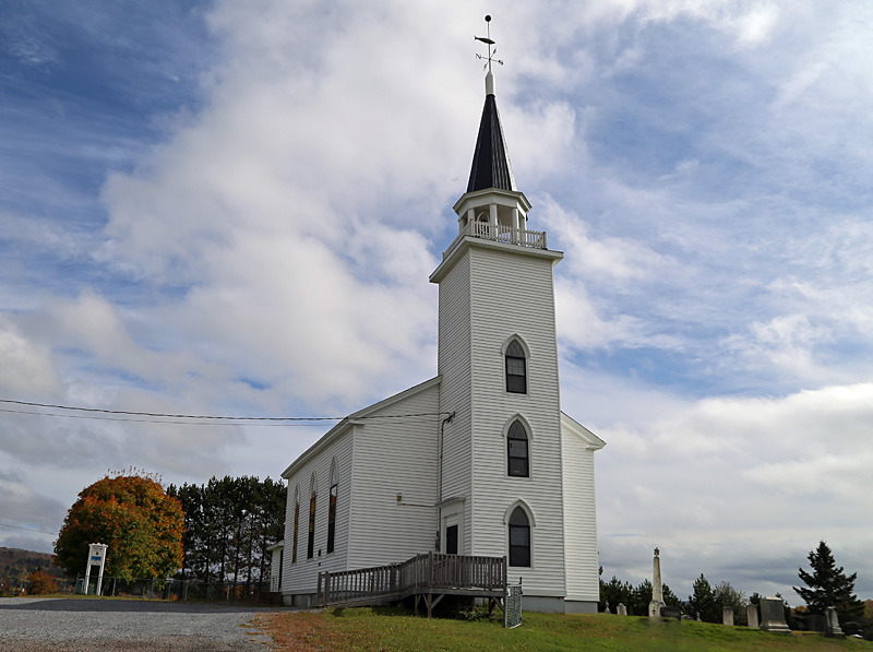 St. Peter's Anglican Church ~ Upham, New Brunswick Canada - Churches of New Brunswick