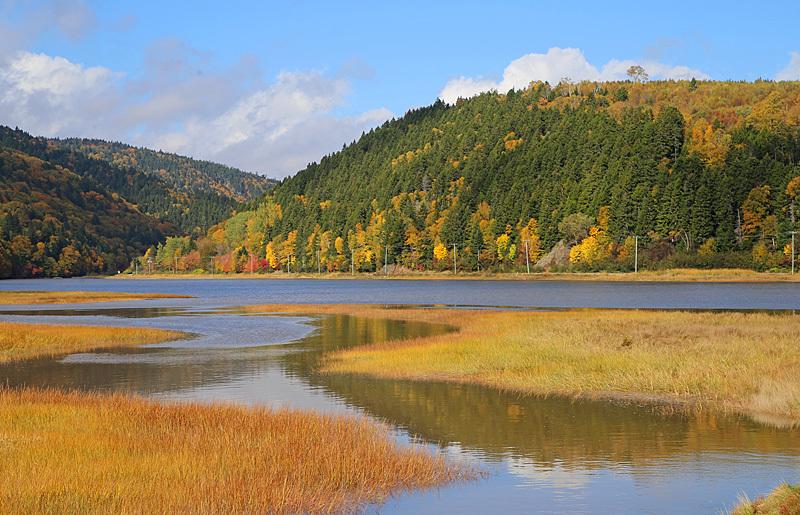 Upper Salmon River Estuary New Brunswick Canada - New Brunswick Landscape