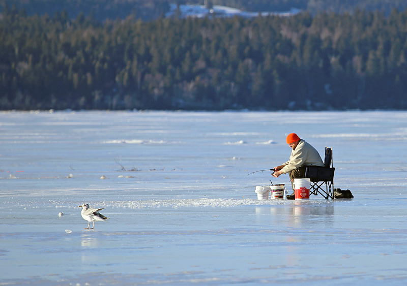 Smelt Fishing the Kennebecasis - Sport & Recreation