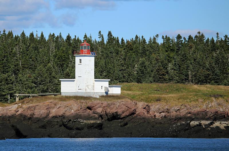 Bliss Island Lighthouse - Lighthouses of New Brunswick
